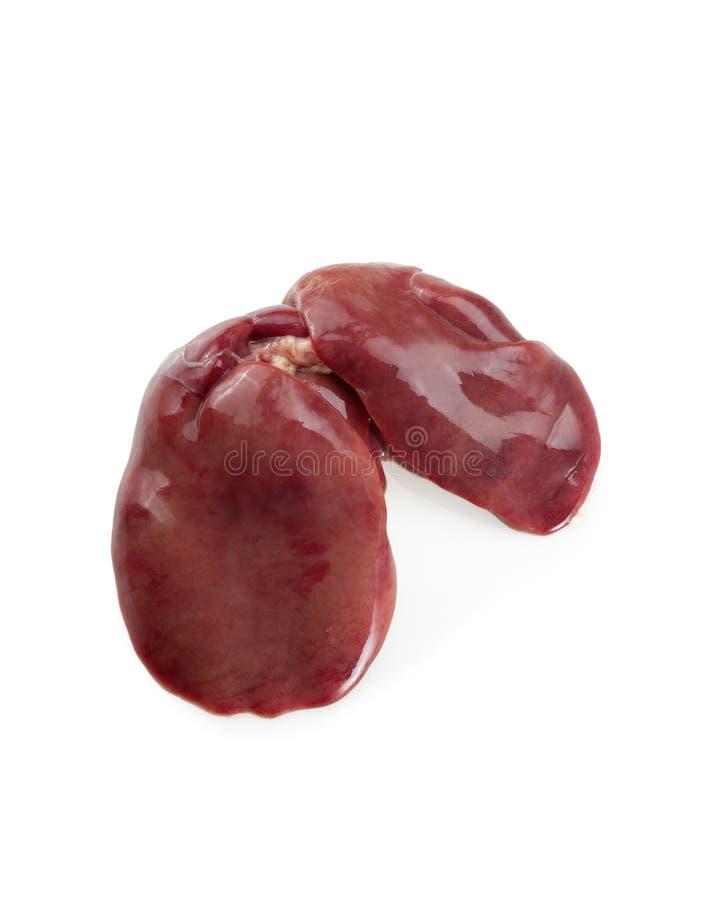 Fígado de galinha fotografia de stock
