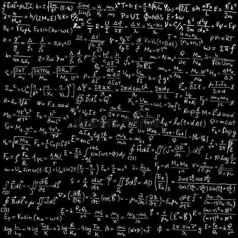 Física ilustração stock