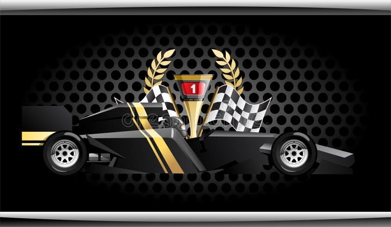 Fórmula 1. ilustración del vector