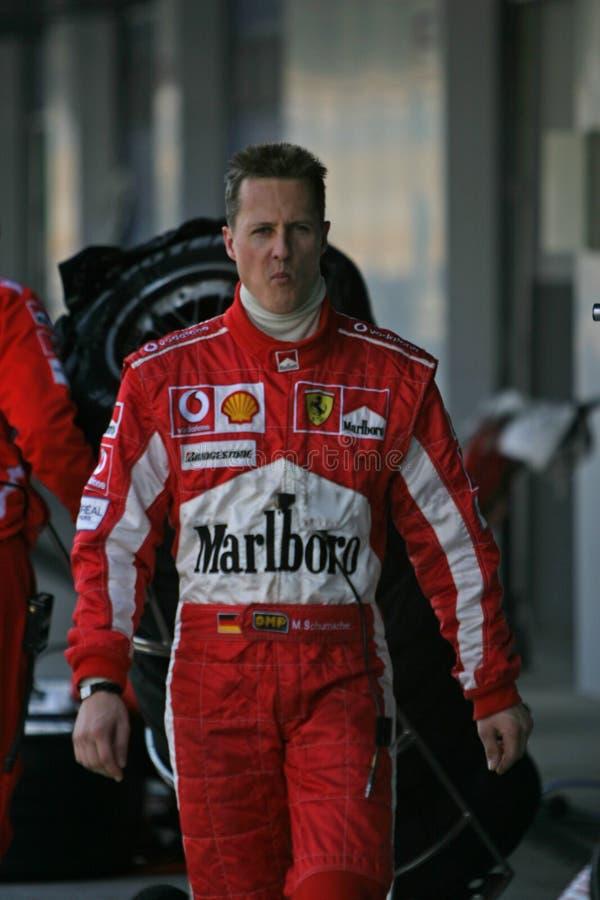 Fórmula 1 2005 estação, Michael Schumacher imagens de stock royalty free