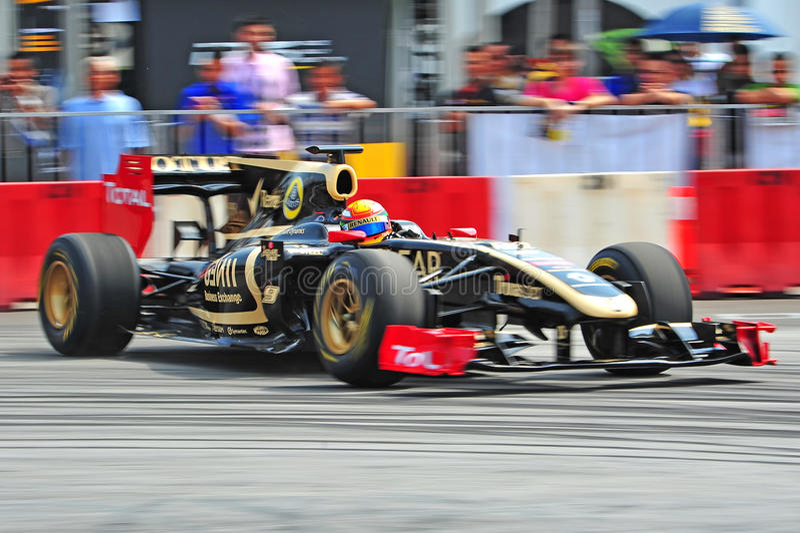 Fórmula 1 imagem de stock royalty free