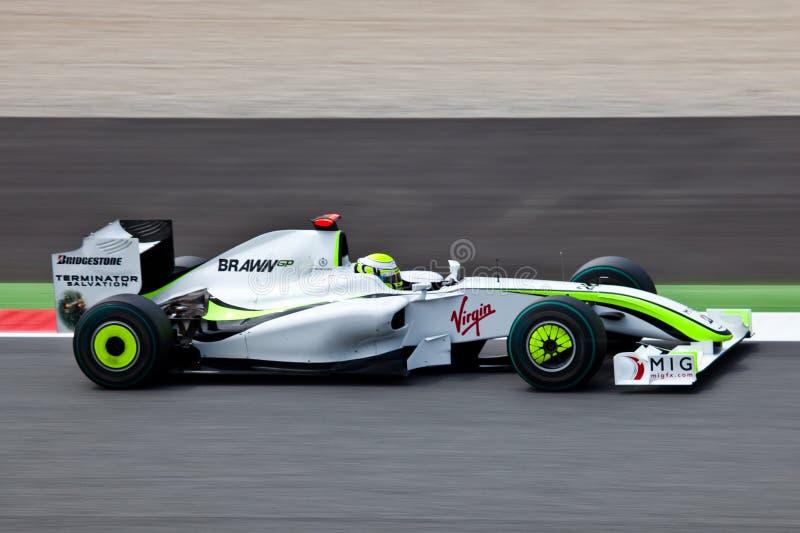 Fórmula 1: GP do Brawn fotos de stock royalty free