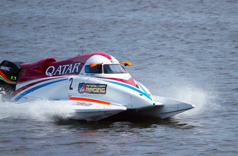 Fórmula 1 H2O de Grand Prix imagen de archivo libre de regalías