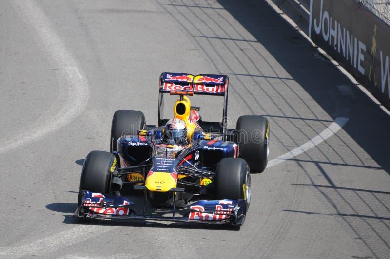 Fórmula 1 Monaco Prix grande fotografia de stock
