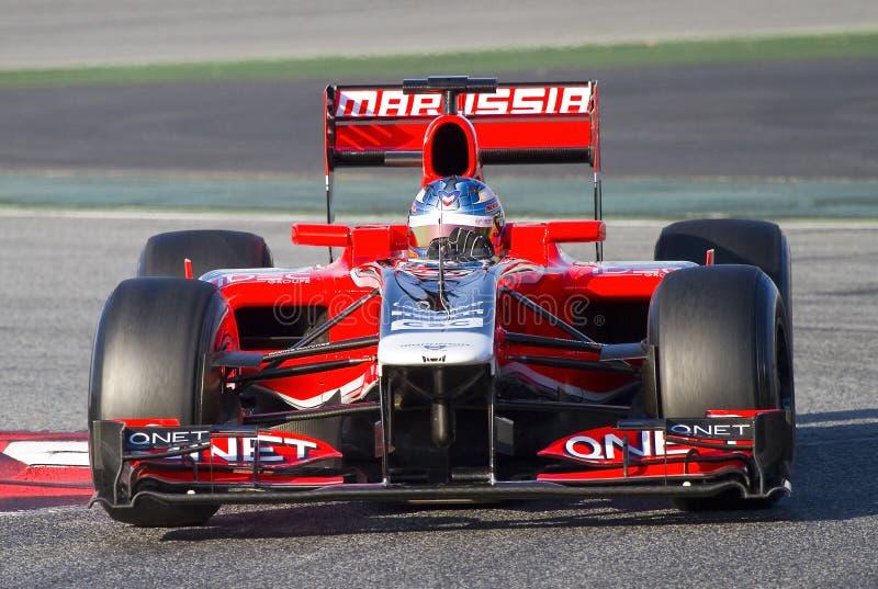 Fórmula 1 - Pic de Charles imagen de archivo libre de regalías