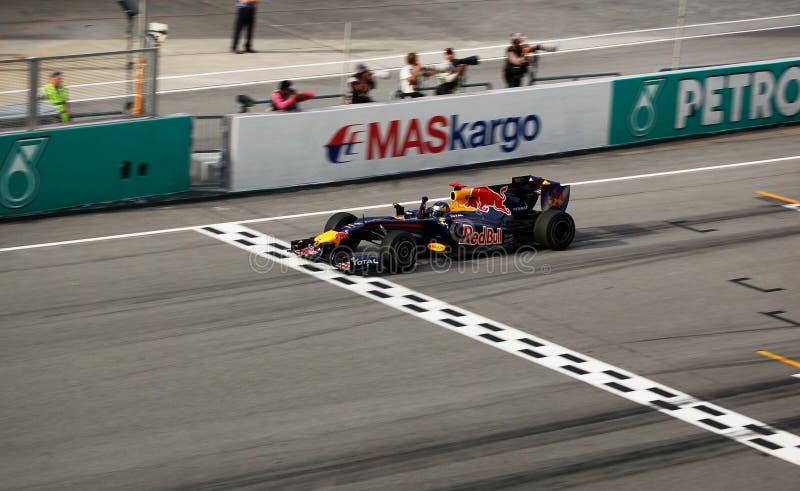 Fórmula 1 Sepang 2010 fotos de stock