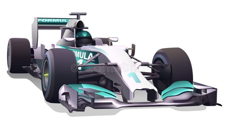 Fórmula 1 ilustración del vector