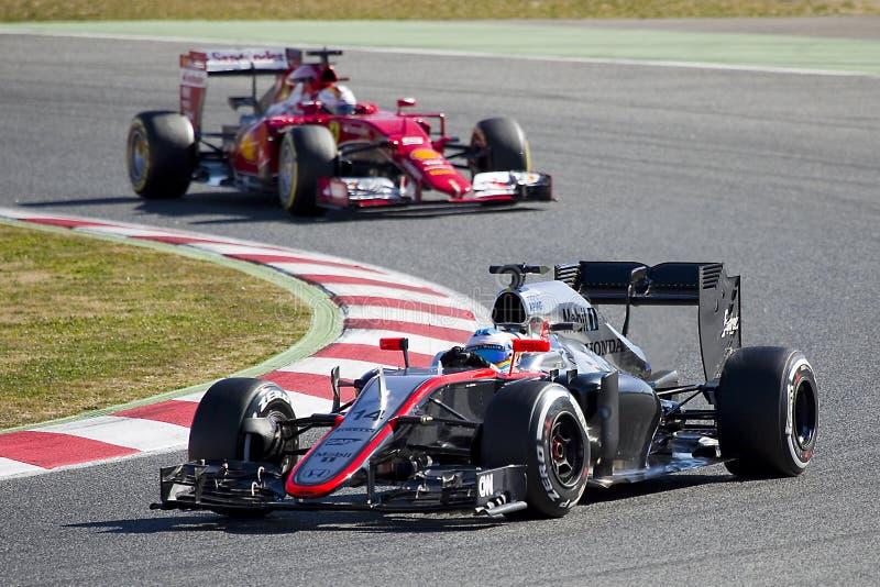 Fórmula 1 foto de archivo libre de regalías