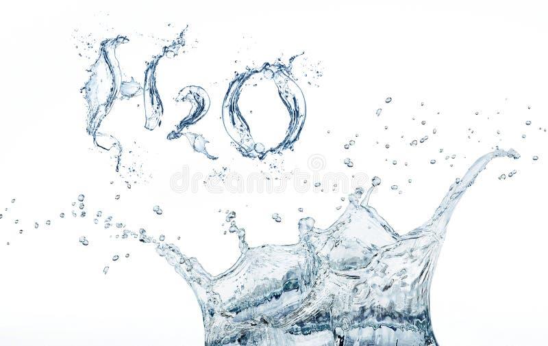 Fórmula da água imagem de stock royalty free