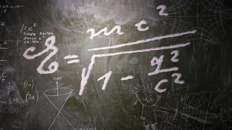 Fórmula da energia ilustração do vetor