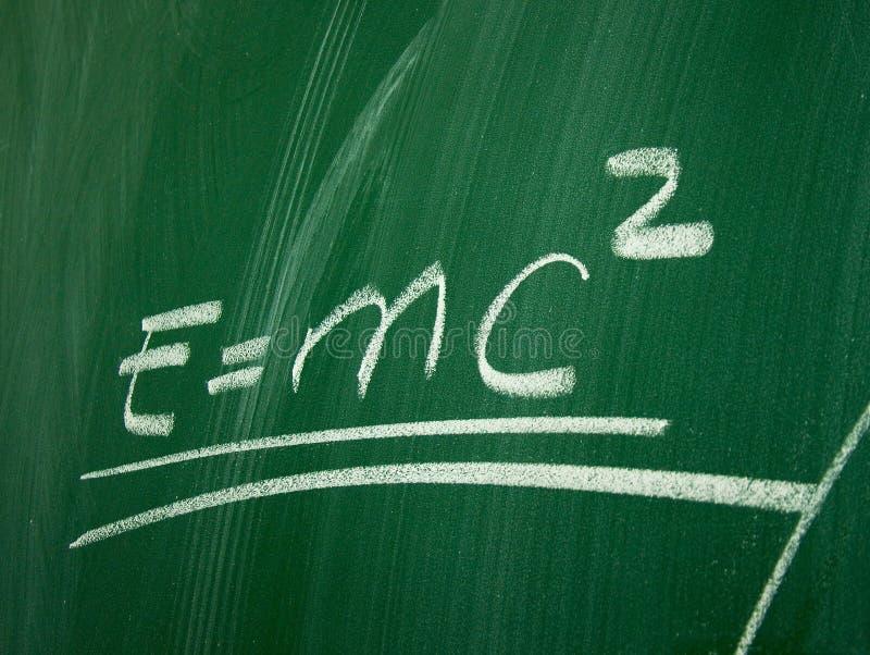 Fórmula de la física ilustración del vector
