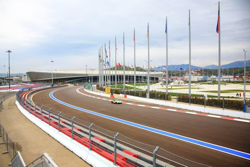 Fórmula 1 de la ruta fotos de archivo libres de regalías