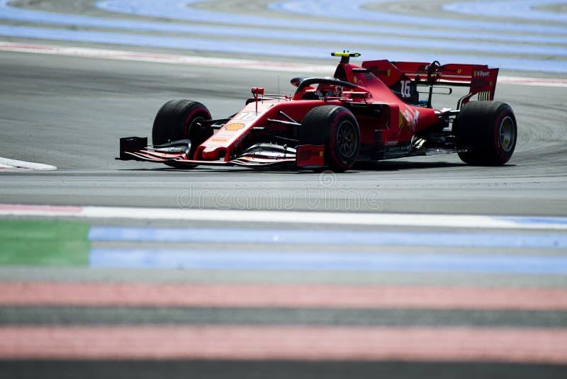 Fórmula 1 Grand Prix francés 2019 imagen de archivo