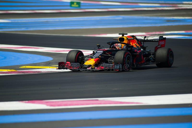 Fórmula 1 Grand Prix francês 2019 fotos de stock royalty free