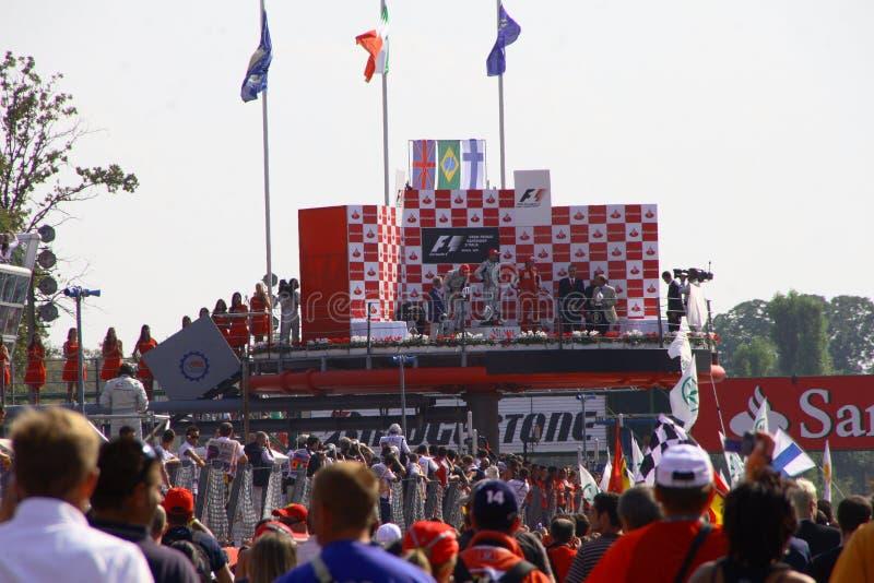 Fórmula grande 1 de Prix foto de stock royalty free