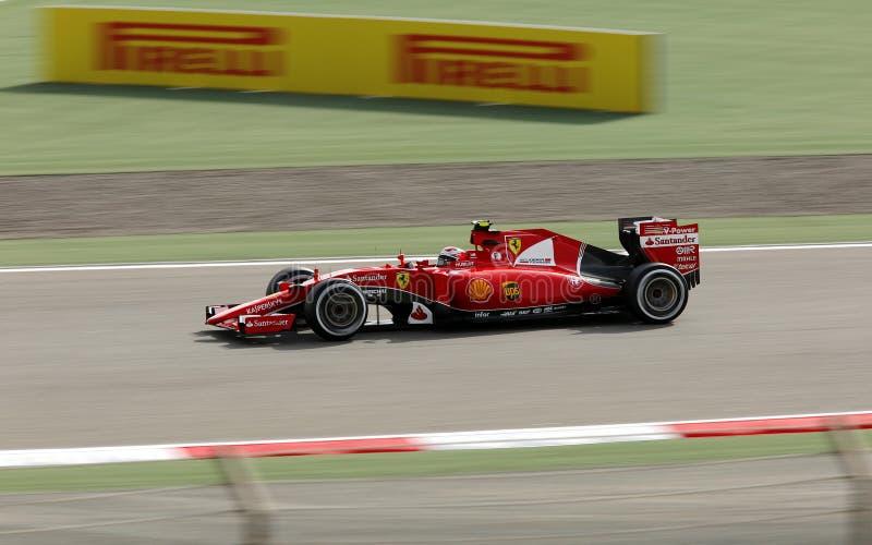 Fórmula 1 Gulf Air Barém Prix grande 2015 imagens de stock