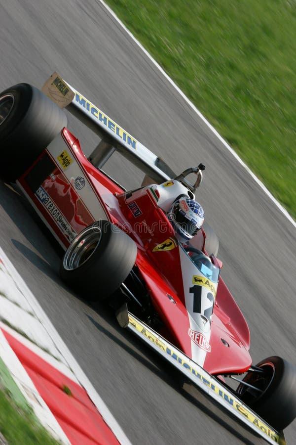 Fórmula histórica 1 imagens de stock royalty free