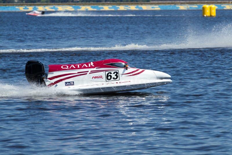Fórmula magnífica 1 H2O de Prix imagenes de archivo