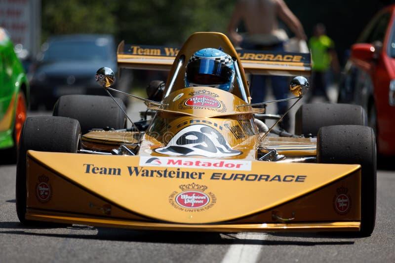 Fórmula março F2 foto de stock royalty free