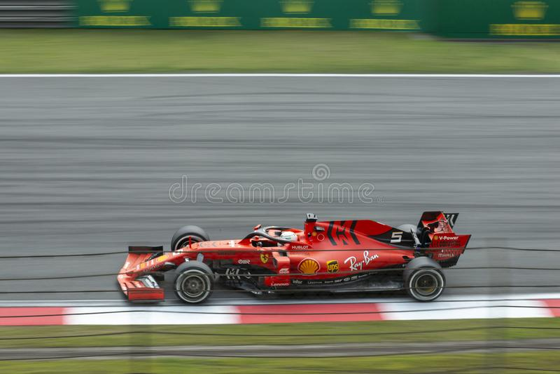 Fórmula 1 2019 Shangai imagenes de archivo