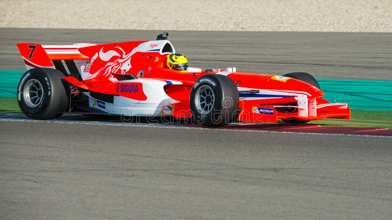 Fórmula A1 Team Netherlands fotos de archivo libres de regalías