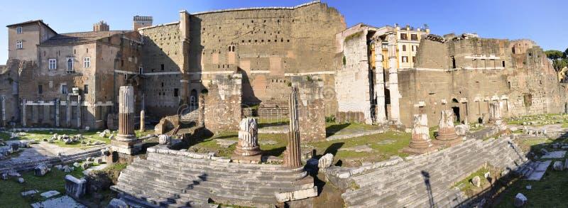 Fórum de Augustus imagem de stock royalty free