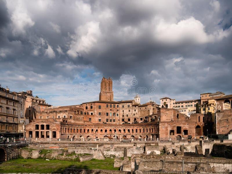 Fórum de Augustus em Roma, Itália imagens de stock