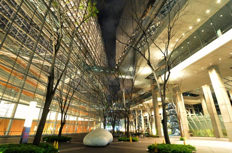 Fórum do international de Tokyo fotografia de stock royalty free
