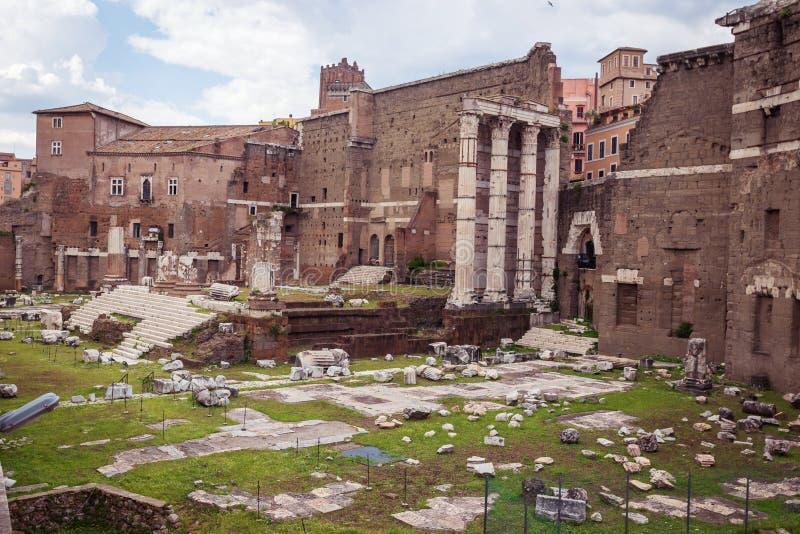Fórum imperial romano imagens de stock