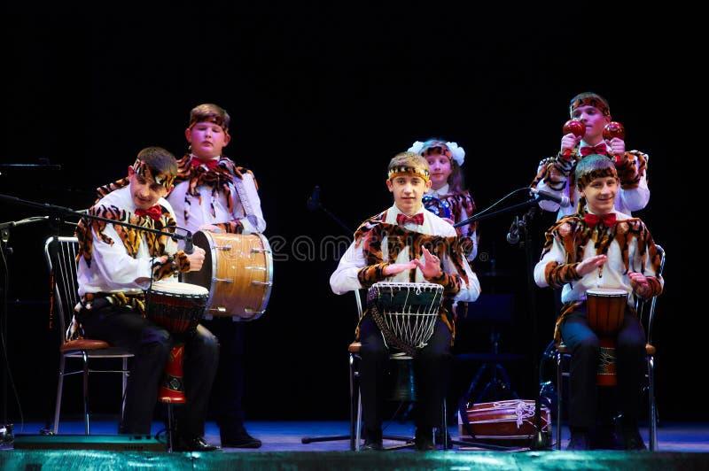 Fórum internacional da música folk e do folclore foto de stock royalty free