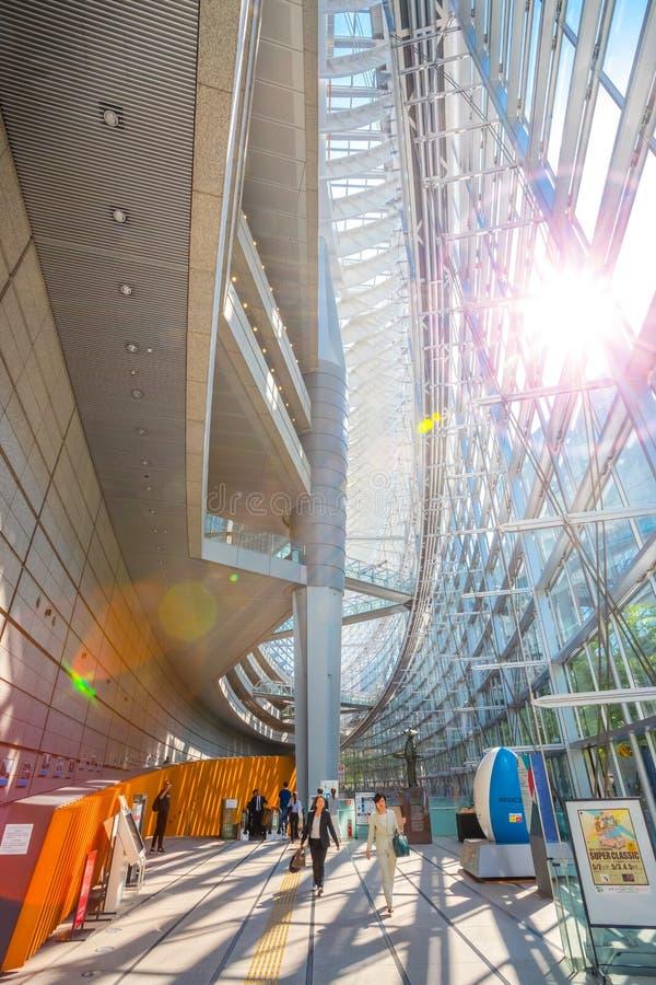 Fórum internacional do Tóquio - um centro de exposição de múltiplos propósitos no Tóquio, Japão foto de stock