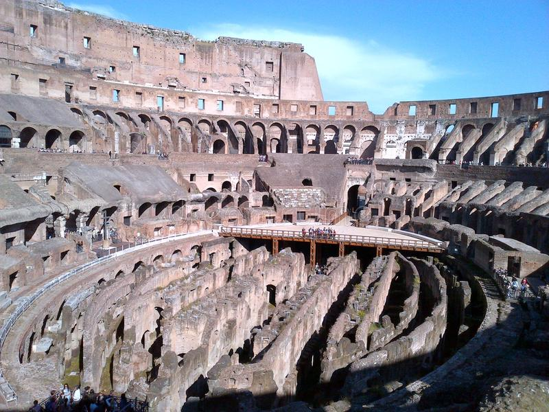 Fórum romano do Th fotos de stock