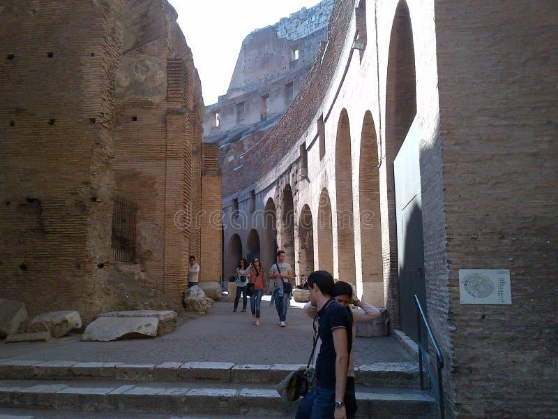 Fórum romano do Th foto de stock