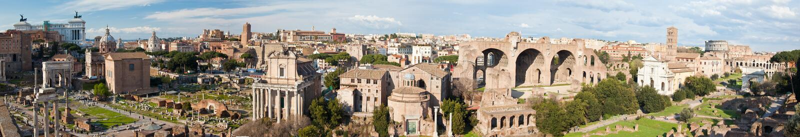 Fórum romano - Roma imagem de stock royalty free