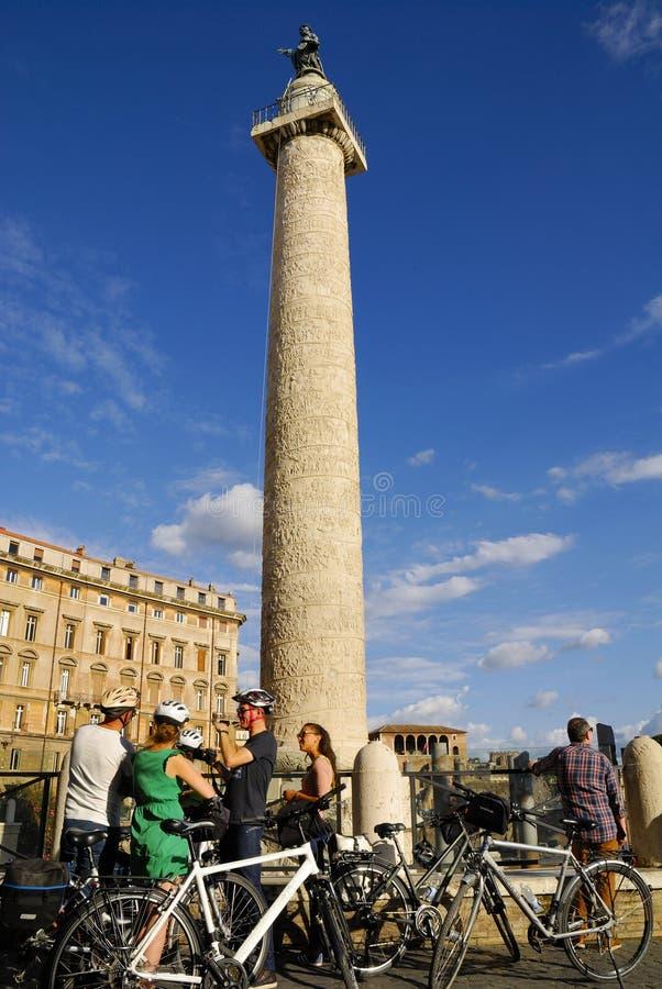 FÓRUM ROMANO, ROMA, ITALIA 24 DE SETEMBRO fotos de stock royalty free