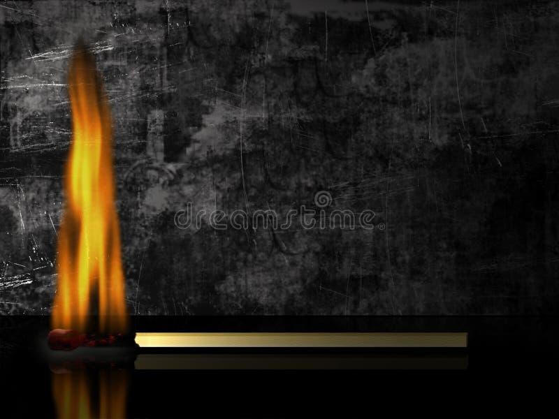 Fósforo ardente imagens de stock