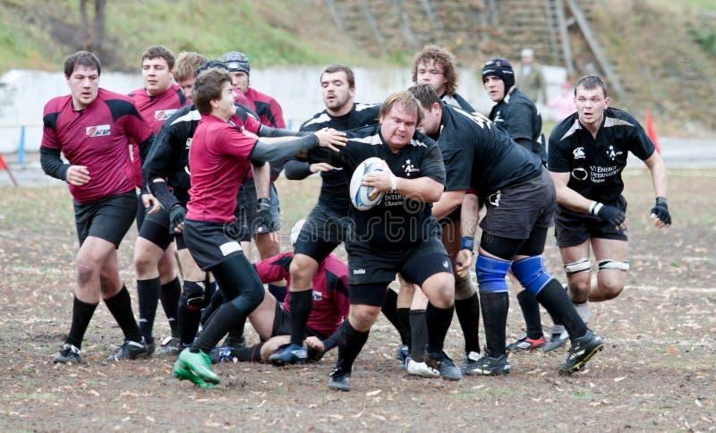 Fósforo de liga do rugby. fotografia de stock