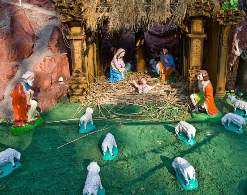 födelse christ jesus royaltyfri bild