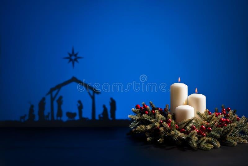 Födelse Jesus fotografering för bildbyråer