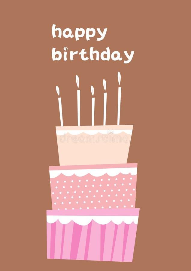födelsedag vektor illustrationer