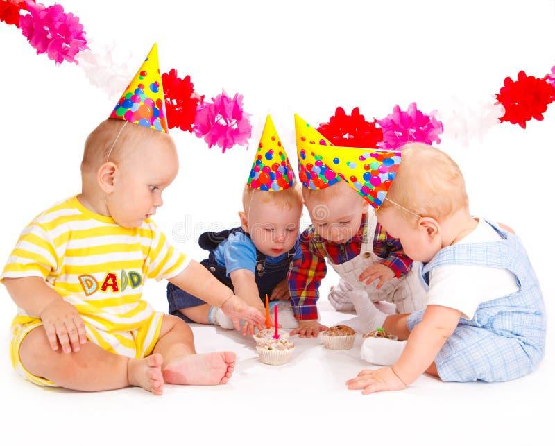 födelsedagcakes arkivfoto