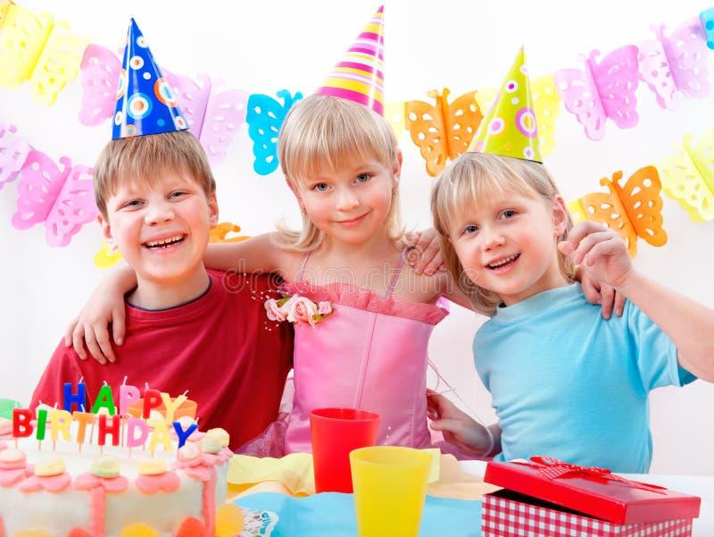 födelsedagdeltagare royaltyfri fotografi