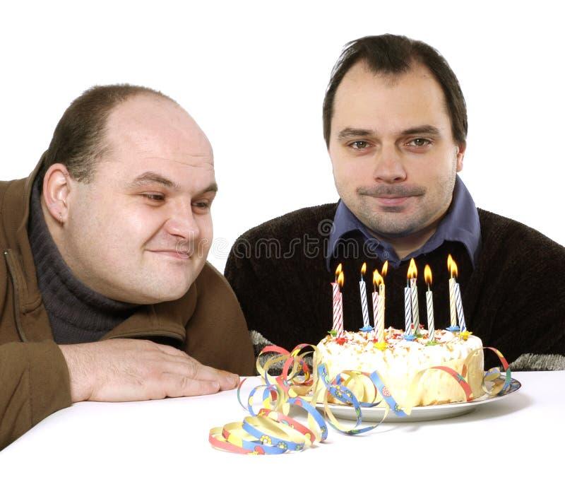 Download Födelsedagdeltagare fotografering för bildbyråer. Bild av bränna - 500281