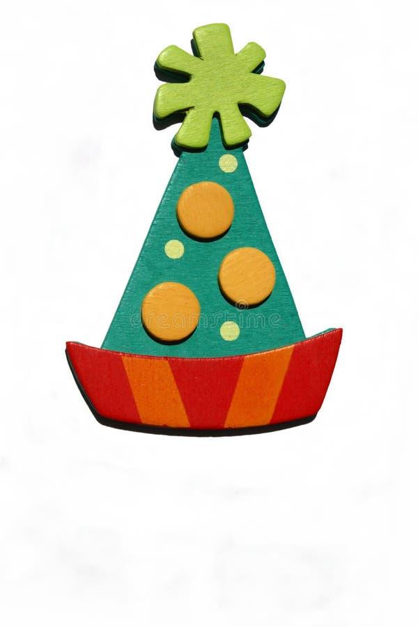 födelsedaghatttoy royaltyfri bild