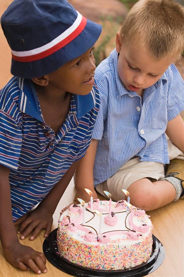 födelsedagpojke royaltyfri fotografi