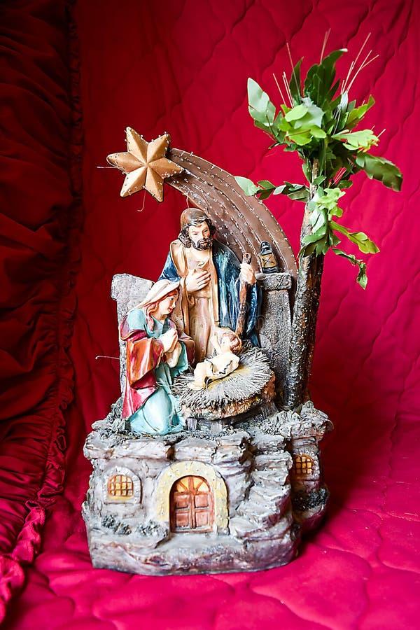 Födelsen av Jesus Christ arkivfoton