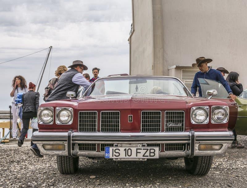 Följ din passion - Retro regatta 2016, Balchik arkivfoto