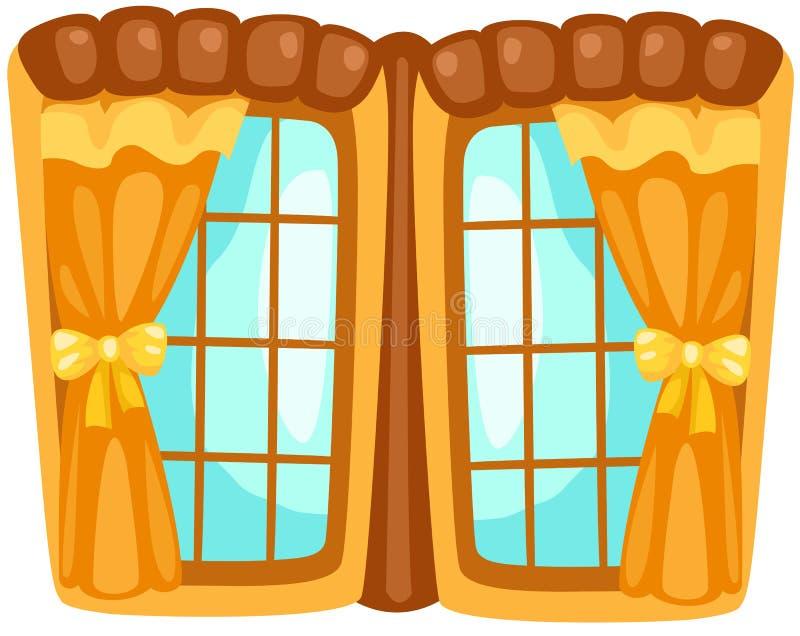 fönster vektor illustrationer