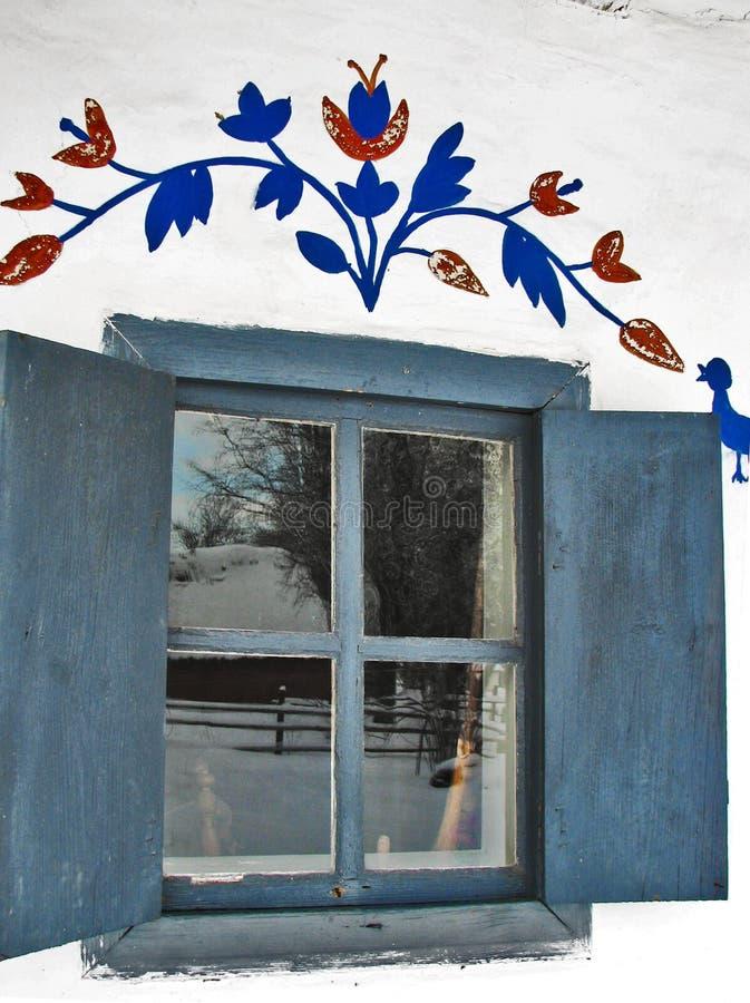 fönster arkivfoto