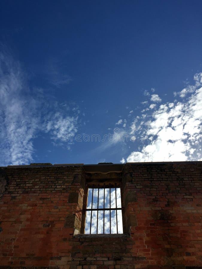 Fönster av frihet royaltyfri fotografi